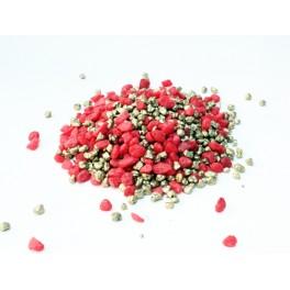 Granulato colore rosso/oro