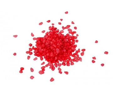 Granulato colore rosso